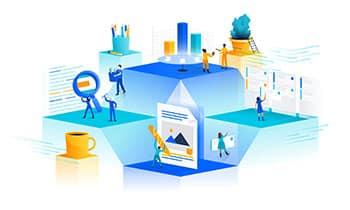 qualität für das enterprise und large enterprise segment: